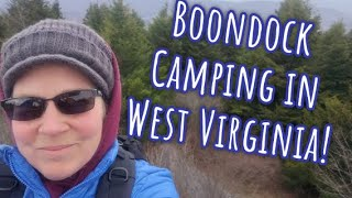 Boondock Truck Camping iฑ Monongahela National Forest!