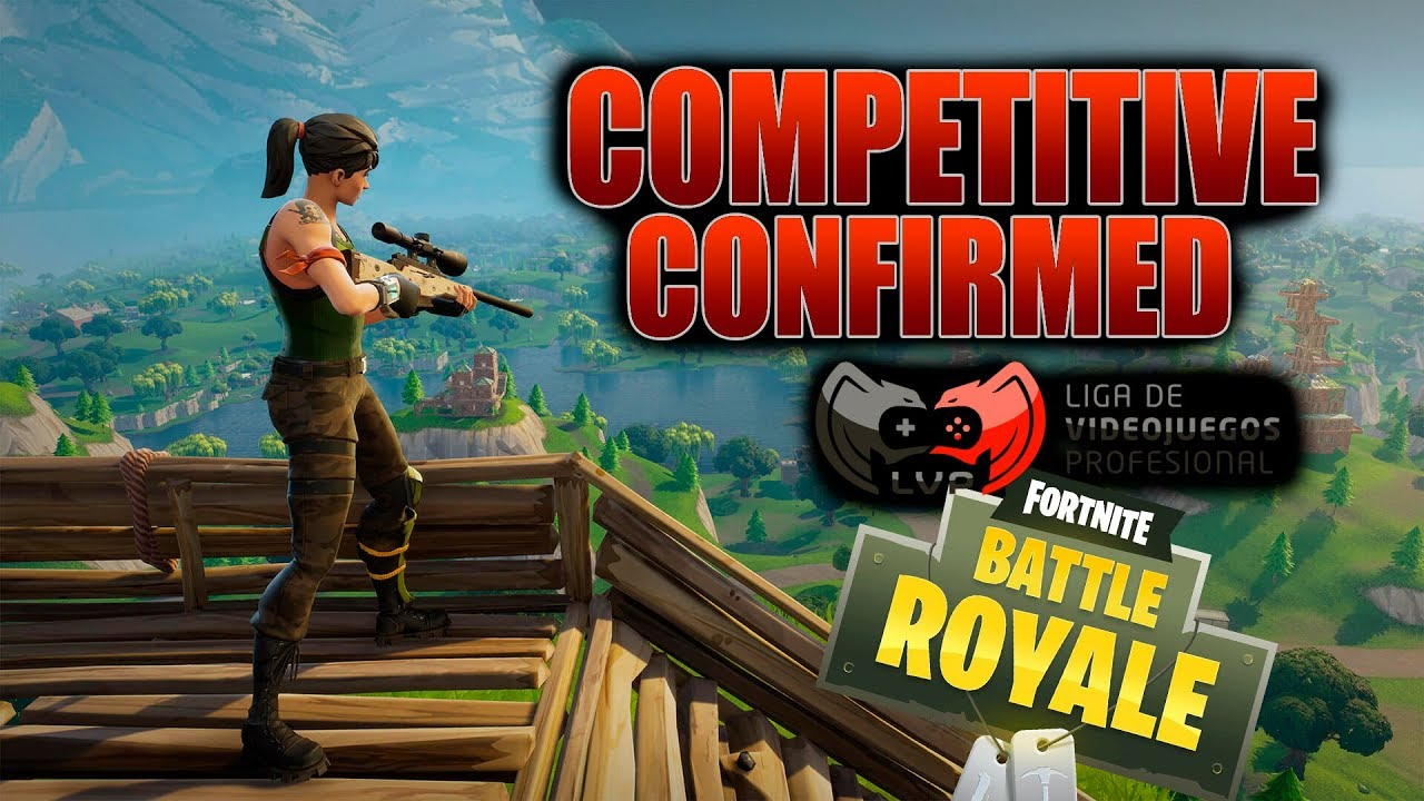 competitivo en fortnite confirmado - fortnite competitivo
