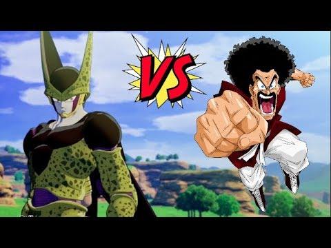 Satan Vs Cell Funny Boss Fight Dragon Ball Z Kakarot