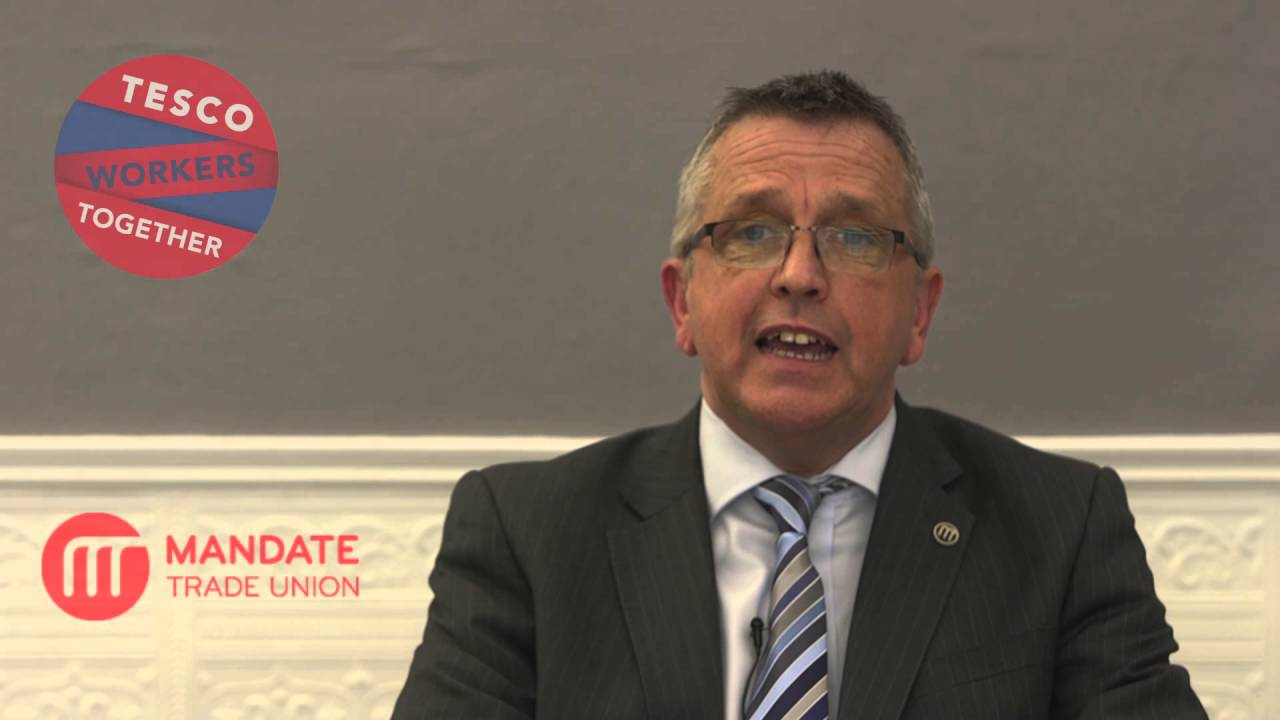 A message to Mandate Trade Union members in Tesco Ireland