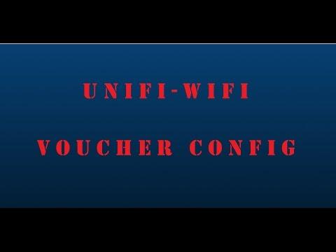 Ubiquiti Networks - UniFi Controller - WiFi Voucher Based Access Setup - 5.0.6