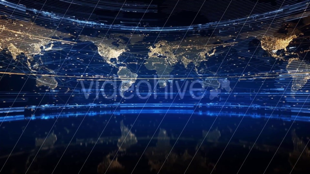 Sapphire and gold background earth map spinning world map animated sapphire and gold background earth map spinning world map animated looped video background gumiabroncs Image collections