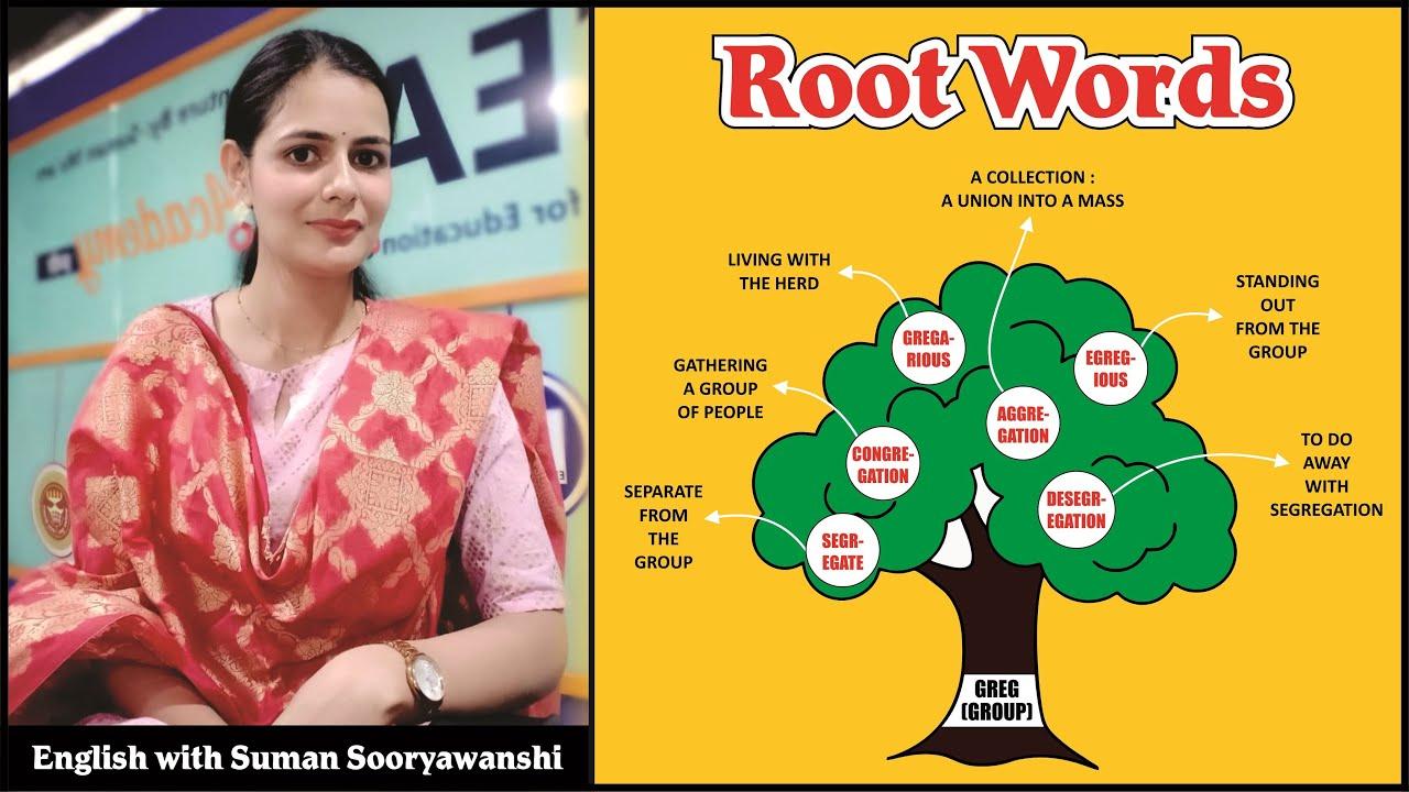 ROOT WORDS का निचोड़ | Part - 3  | By Suman Sooryawanshi Ma'am | Ocean Gurukuls