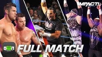 The Wolves vs The Hardys vs Team 3D: FULL METAL MAYHEM | IMPACT Wrestling Full Matches