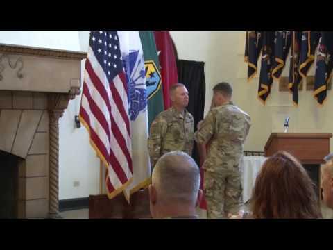 Command Sergeant Major Timothy Metheny Farewell Ceremony
