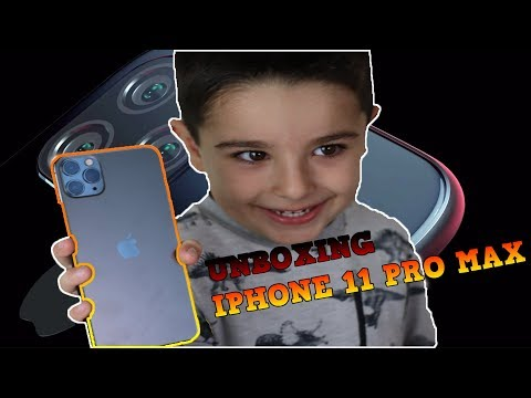 iPhone 11 pro max unboxing Tubersfunfam