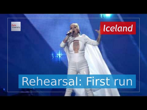 Svala - Paper - Iceland - Live - Full Rehearsal - Eurovision Song Contest 2017 (4K)
