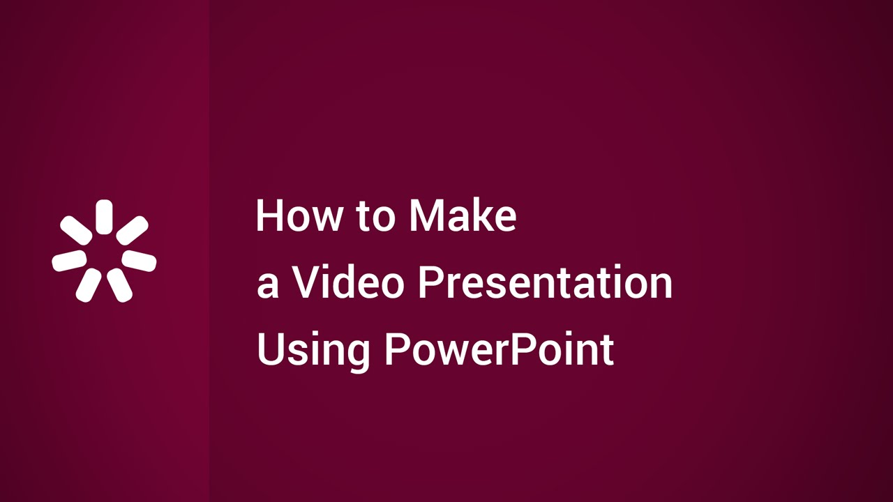 How to Make a Video Presentation Using PowerPoint - YouTube