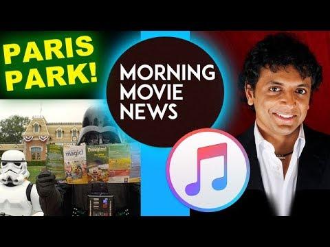 Disneyland Paris getting Star Wars, Marvel & Frozen! M Night Shyamalan Apple Series