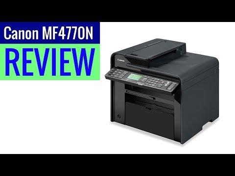 Canon Laser imageCLASS MF4770n Printer 2019 review