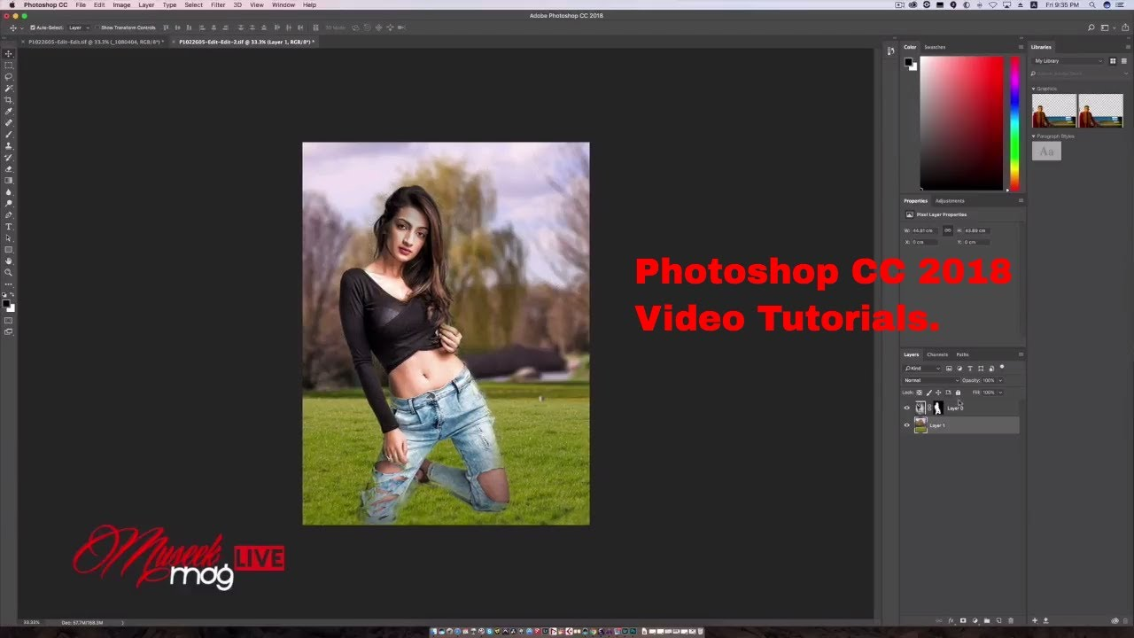 Photoshop CC 2018 Whats New - video tutorial