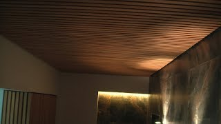 Столярка (Отделка стен и потолка рейкой сосны без видимого крепежа) Часть 2 Рабочие моменты(, 2017-12-21T07:19:56.000Z)