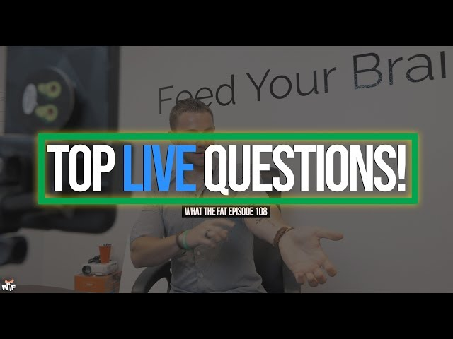 WTF #108 | Top Live Questions Answered