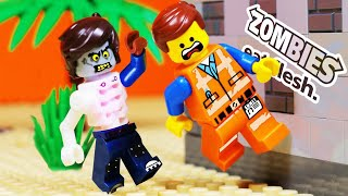 LEGO MOVIE 2 ZOMBIE SKELETON FAIL - TOY ANIMATION FOR KIDS