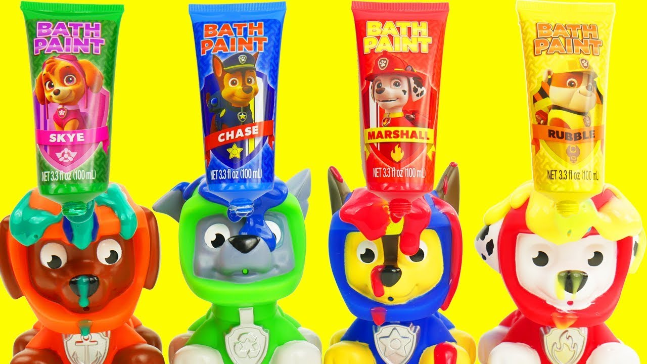 Learn Colors Video for Kids with Paw Patrol Skye & Chase ...