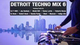 Detroit Techno Mix 6 | With Tracklist | Vinyl Mix