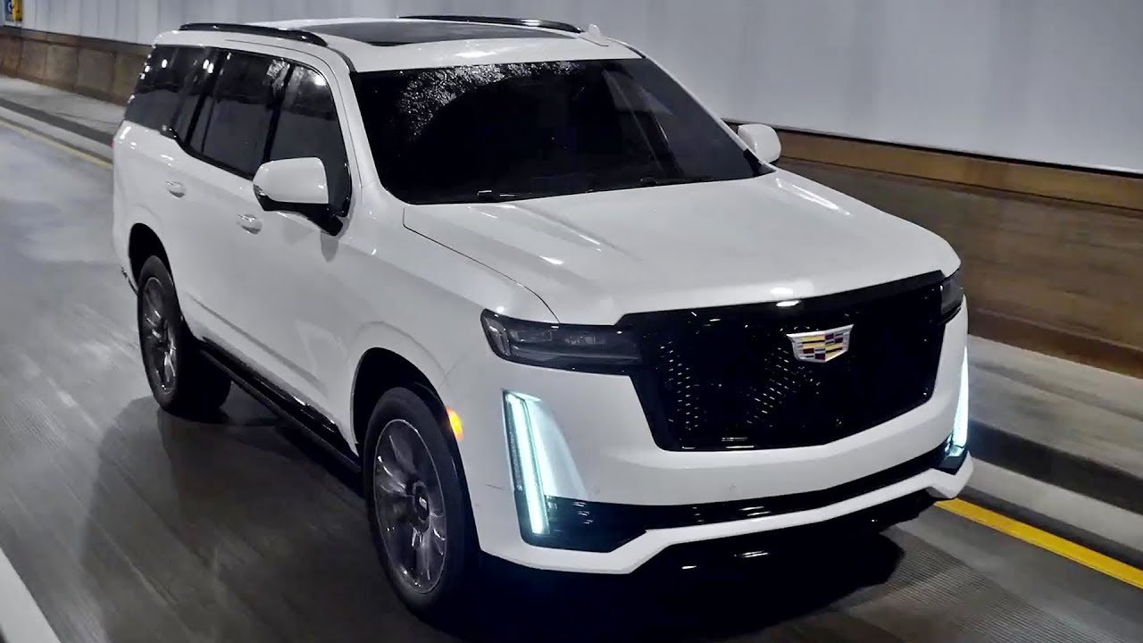 2021 cadillac escalade - interior exterior and drive  more wild