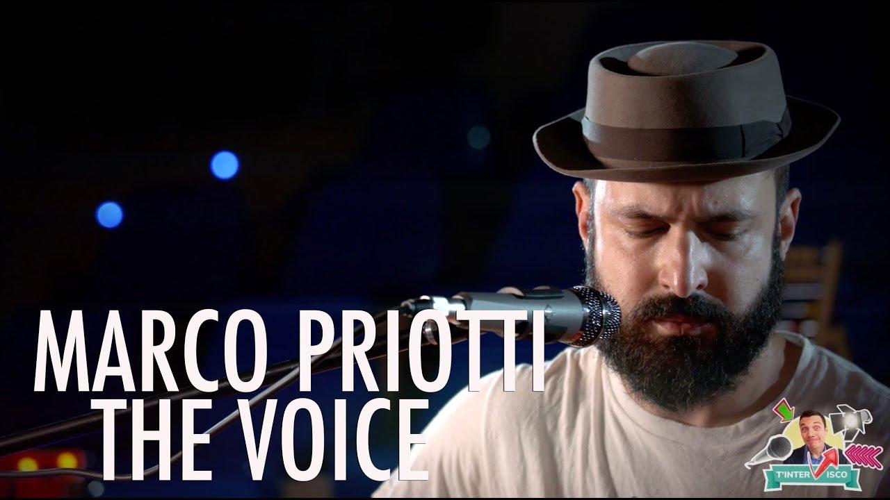 Marco Priotti The Voice | Esibizione musicale | T'interVisco