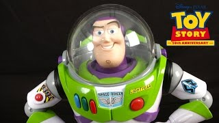 Buzz Lightyear Talking Action Figure - Toy Story Toys Review | Thinkway Toys