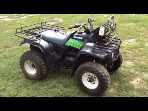 kawasaki 4 wheeler for sale sc auctions south carolina auction youtube. Black Bedroom Furniture Sets. Home Design Ideas