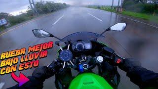 Con esto ruedas mejor bajo lluvia! Chamarra R7 en AstroBiker