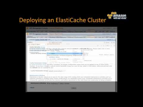 Webinar: Turbo Charge your apps using Amazon ElastiCache