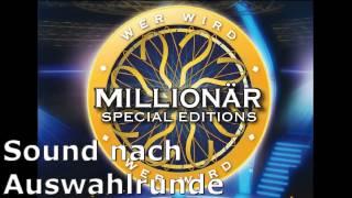 Wer wird Millionär Soundtracks [21] - Sound nach Auswahlrunde