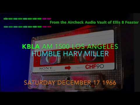 KBLA AM 1500 Los Angeles - Harvey Miller - December 17 1966