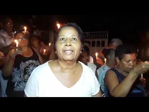 Protestan en sector Cerro de Marino reclamando pavimentación de calles
