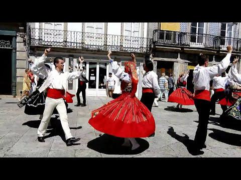 Danses Folkloriques -   Viana do Castelo  (Portugal) -  juillet 2017