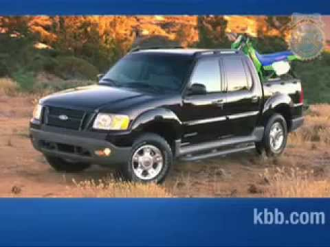 2008 Ford Explorer Sporttrac Review Kelley Blue Book Youtube