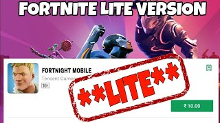 How To Download FortNite Lite For Android And iOS Device || How To Play FortNite Lite in Android.