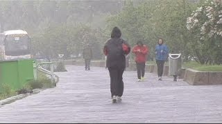 ربيع هذا العام بارد في غرب أوروبا وحار جدا في شرقها