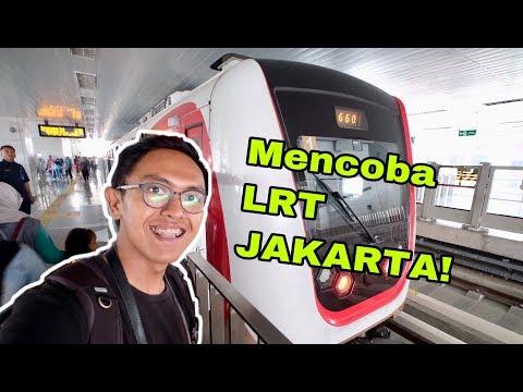 UJI COBA LRT JAKARTA!