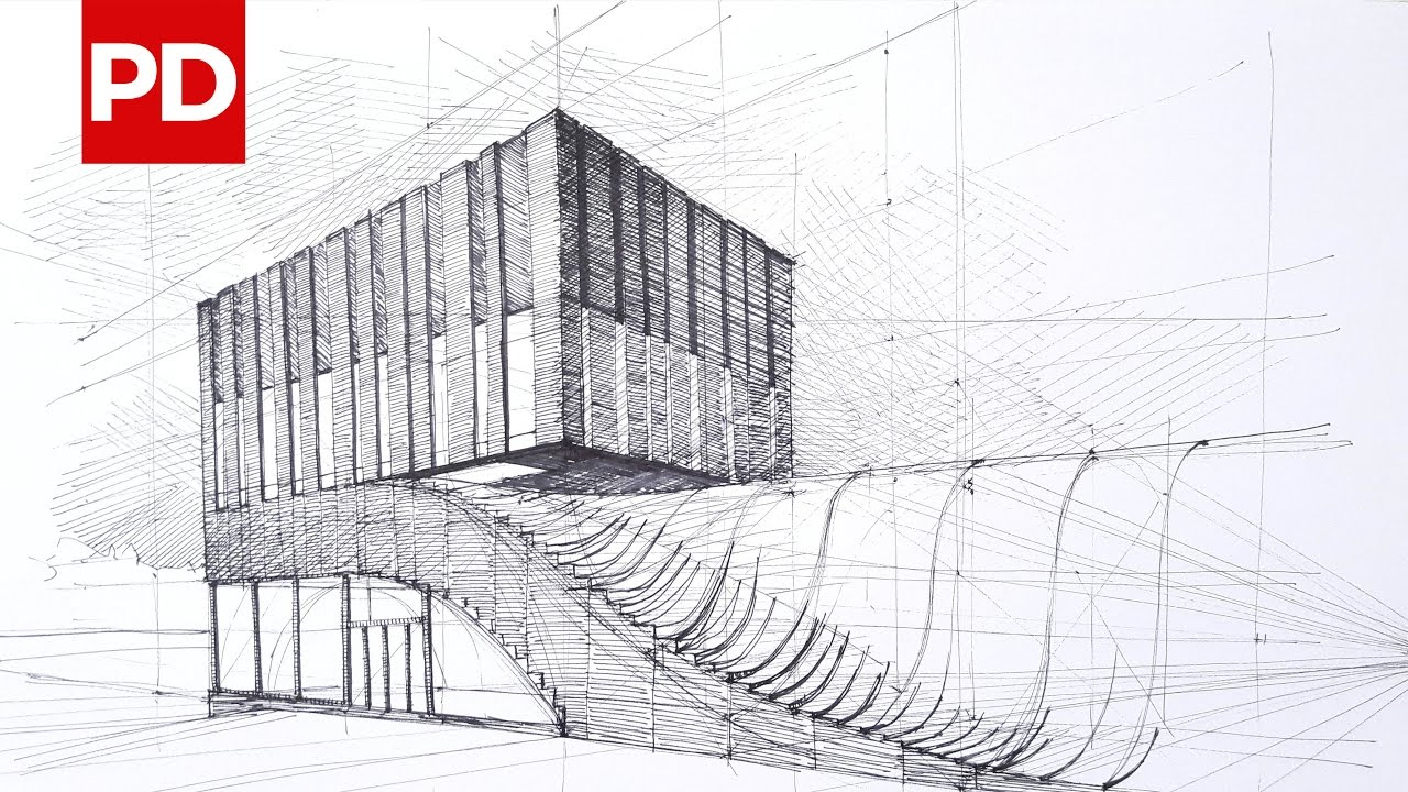 Drawing Termeh Office Commercial Building