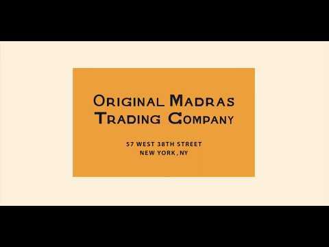 Original Madras Trading Company SS-20 Handwoven