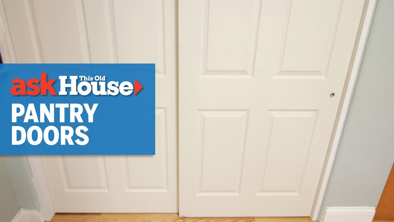 How to Install Bypass Pantry Doors