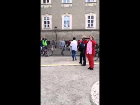 Post Horn call in Salzburg