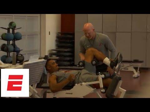 Alabama Training Days: Coach Cochran works out the team | ESPN