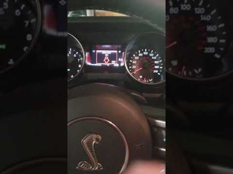 Ford Mustang GT Cold Start Exhaust Sound