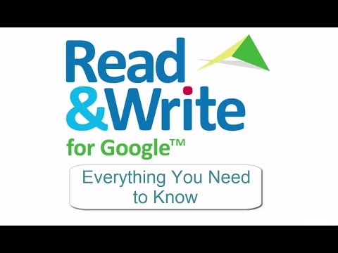 Read & Write for Google - Everything You Need to Know