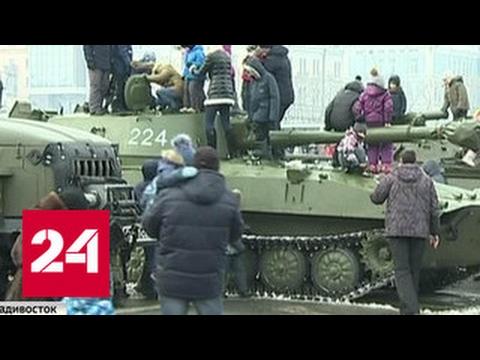 Крым и Севастополь отметили двойной праздник