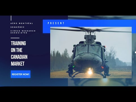 A market with potential: defence | Training on the Canadian market