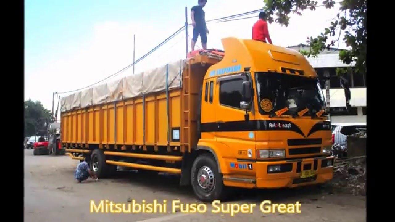 Truck Mania Fuso Super Great Lintas Borneo YouTube