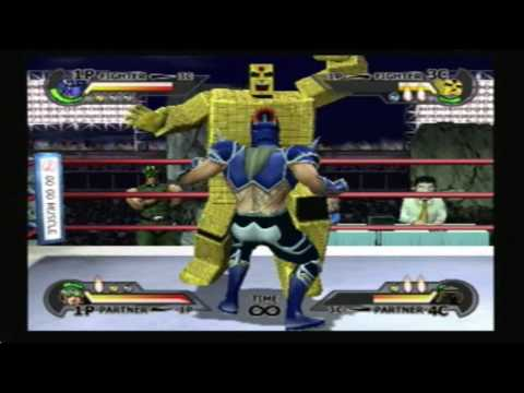 Kevin Mask & Jeager Vs. Sunshine & Warsman *HD*