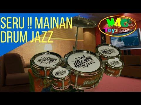 MAINAN SERU !! DRUM JAZZ MUSIK   TOYS DRUM JAZZ MUSIC