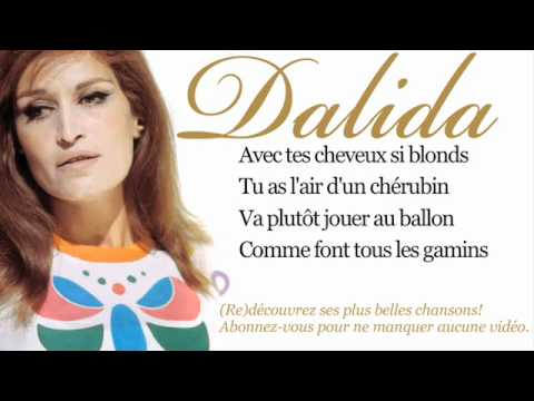 Dalida - Bambino - Paroles (Lyrics)