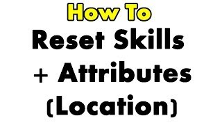 The Elder Scrolls Online: How To Reset Skills + LOCATION for all factions