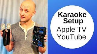 Gambar cover Karaoke setup using Apple TV YouTube unlimited