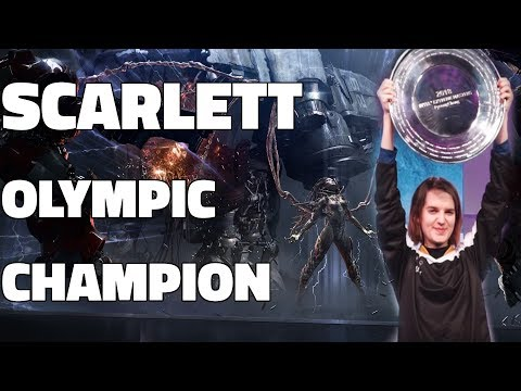 Scarlett - Olympic Champion! (IEM Pyeongchang 2018)